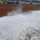 Wet & Windy in Brighton by Geraldine Miller