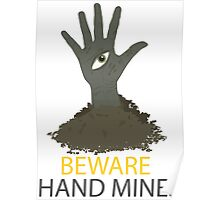 Beware of the Hand Mines 02 (Doctor Who) Poster