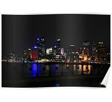 The Circular Quay of Sydney Poster