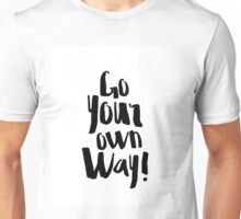 Fleetwood Mac Go Your Own Way  Unisex T-Shirt