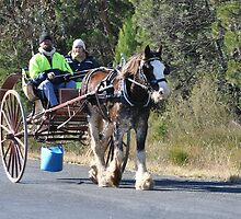 heading to the Henry Lawson Festival by julie anne  grattan