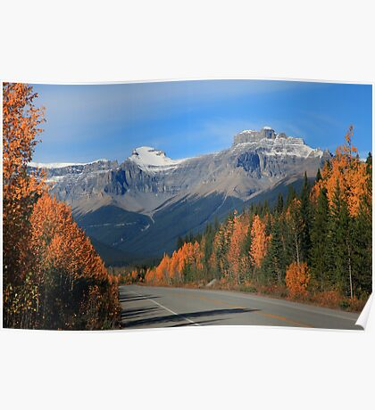 Autumn on the Parkway Poster