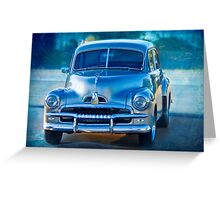 FJ Holden Special Greeting Card