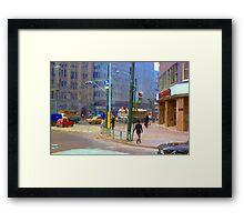 Tokyo,1970 Framed Print
