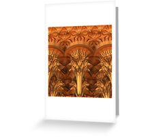 Fractal Architecture Greeting Card