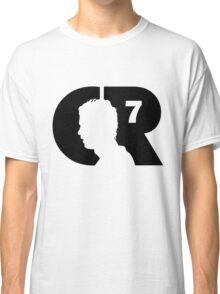 CR7 logo black Classic T-Shirt