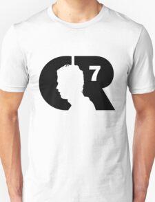 CR7 logo black Unisex T-Shirt