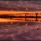 Mandurah Estuary Bridge by Peter Rattigan