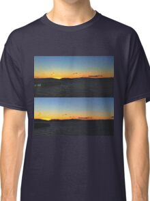 Sunset on the Hudson Classic T-Shirt