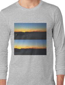 Sunset on the Hudson Long Sleeve T-Shirt
