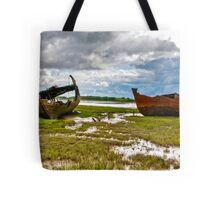 The Wrecks - Fleetwood Marsh Tote Bag