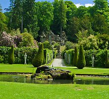 Chatsworth gardens by ANDREW BARKE