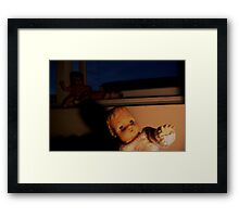 The Light. Framed Print