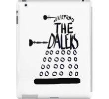 Never Mind the Daleks iPad Case/Skin