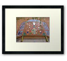 Tucson mosaic Framed Print