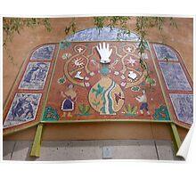 Tucson mosaic Poster