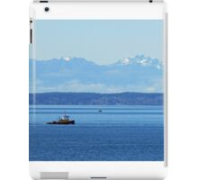 Working the Waters of Puget Sound iPad Case/Skin