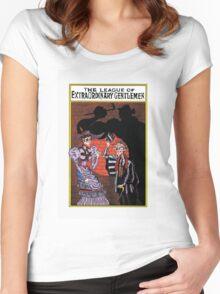 The league of Extraordinary Gentlemen  Women's Fitted Scoop T-Shirt