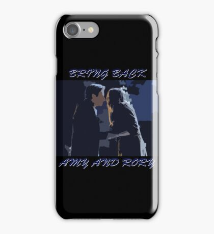 Bring Back Amy and Rory iPhone Case/Skin