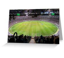 MCG Melbounre Australia Greeting Card
