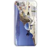 Santorini View iPhone Case/Skin