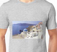 Santorini View Unisex T-Shirt