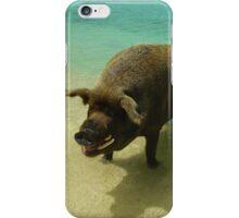 Wilbur the Beach Pig iPhone Case/Skin