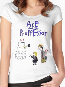 Ace and the Professor Women's Fitted Scoop T-Shirt