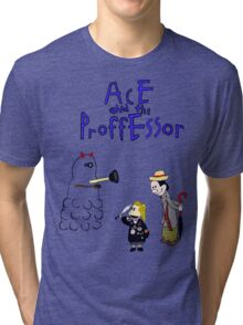 Ace and the Professor Tri-blend T-Shirt