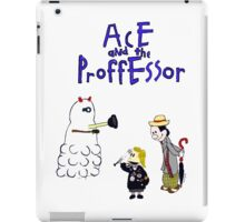 Ace and the Professor iPad Case/Skin