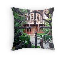 old town of plovdiv Throw Pillow