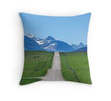 Ranchland Road Throw Pillow