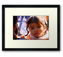 Children of Guatemala Framed Print