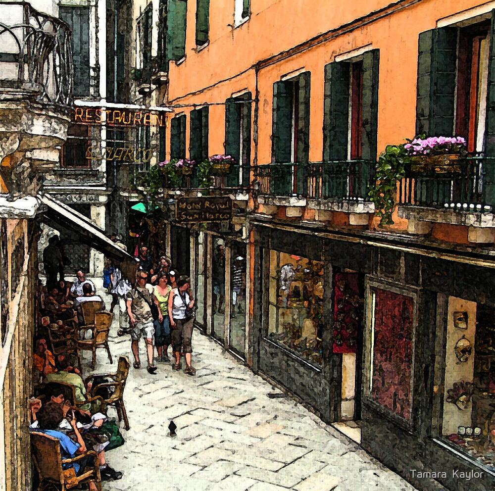 Fresco - Venice Life by Tamara  Kaylor