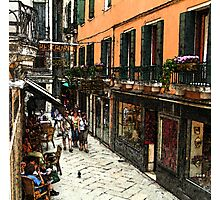 Fresco - Venice Life Photographic Print