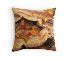 Feel of funghi Throw Pillow