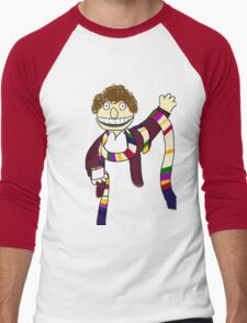 Fourth Doctor Muppet Style Men's Baseball ¾ T-Shirt