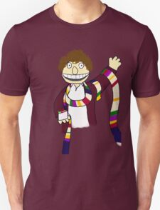 Fourth Doctor Muppet Style Unisex T-Shirt