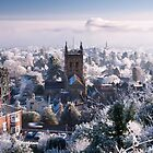 Great Malvern - Morning after freezing fog by Jan  Sedlacek
