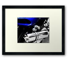 road legal Framed Print