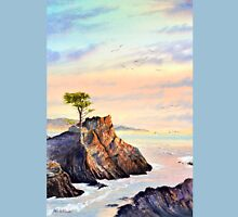 Lone Cypress Tree Pebble Beach California T-Shirt