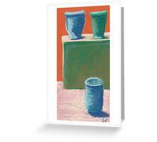 Vessels (pastel) Greeting Card