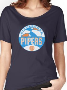 Pittsburgh Pipers Vintage Women's Relaxed Fit T-Shirt