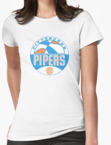 Pittsburgh Pipers Vintage Womens Fitted T-Shirt