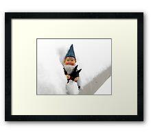 Avalanche Gnome Framed Print