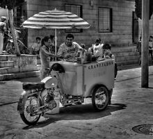 Ice cream cart by marcopuch