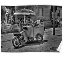 Ice cream cart Poster