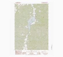 USGS Topo Map Oregon Cottage Grove Lake 279447 1987 24000 Kids Tee
