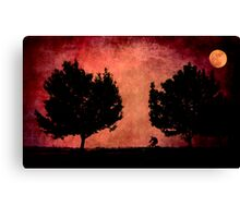 Moon Ride Canvas Print