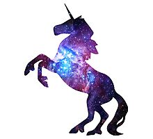 Galaxy Unicorn Photographic Print
